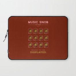 Made to be Displayed — Music Snob Tip #33⅓ B Laptop Sleeve