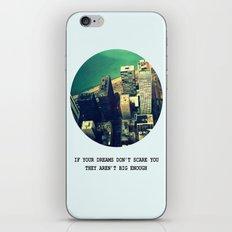 DREAM BIG! iPhone & iPod Skin