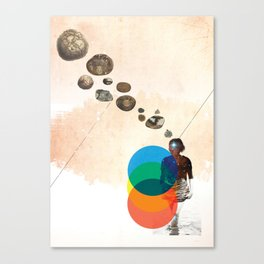 #7 Canvas Print