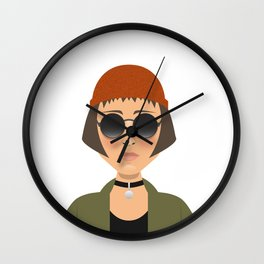 MATHILDA - LEON Wall Clock