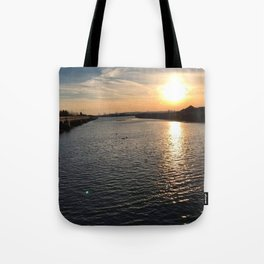Waterview in Redhook Tote Bag