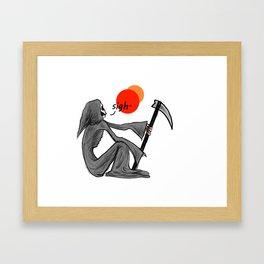 Reaper Sigh Framed Art Print