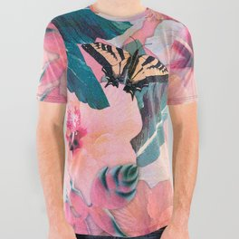 Hale Aloha Hibiscus All Over Graphic Tee