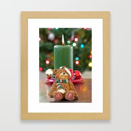 Little Bears Christmas Framed Art Print