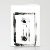tape Stationery Cards featuring TAPE by Michela Buttignol
