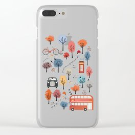 London transport Clear iPhone Case
