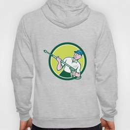 Pressure Washer Water Blaster Circle Cartoon Hoody