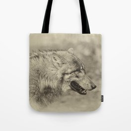 lonesome wolf Tote Bag