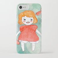ponyo iPhone & iPod Cases featuring Ponyo by munieca
