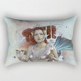 Space Siren: Mermaids of the Sky Rectangular Pillow