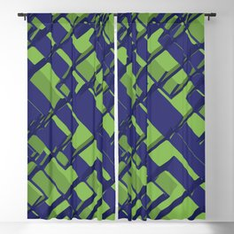 3D Abstract Futuristic Background III Blackout Curtain