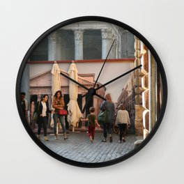 Pantheon of Rome Locals's View Wall Clock