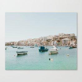 Calm Coast Canvas Print