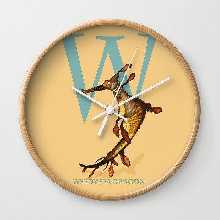 W is for Weedy Sea Dragon: Under Appreciated Animals™ ABC nursery ...