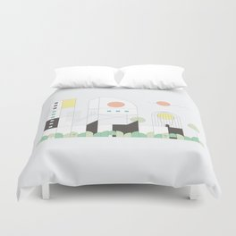 Forma 4 by Taylor Hale Duvet Cover