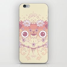 Cat flowers iPhone & iPod Skin