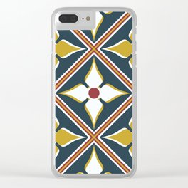 Bus Station Clear iPhone Case