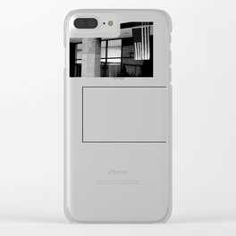 America is an Unfinished Project Clear iPhone Case
