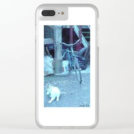 tall. the angle who hopes for your attention who you hope God protected (2) #104 Clear iPhone Case