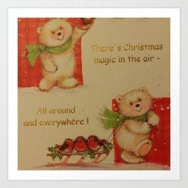 THE MAGIC OF CHRISTMAS Art Print