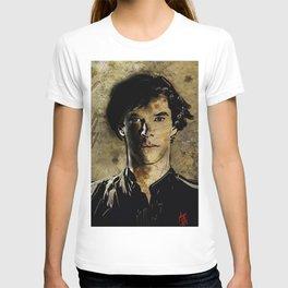 Cumberbatch as Sherlock Holmes T-shirt
