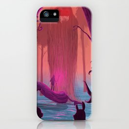 Jabberwocky. iPhone Case