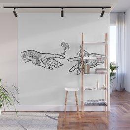 the creation of cannabis Wall Mural