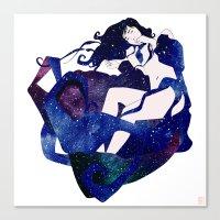 celestial Canvas Prints featuring Celestial by Stevyn Llewellyn