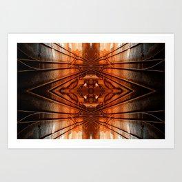 Quad Tracks #1 Art Print