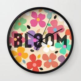 Bloom - Galaxy Eyes & Garima Dhawan Wall Clock