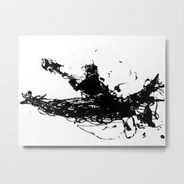 Kayakers Kayak Metal Print