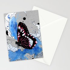 Butterfly III ink by carographic, Carolyn Mielke Stationery Cards