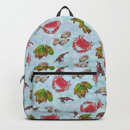 Seafood Medley - Water Backpack