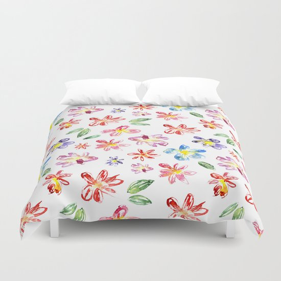 Flower glade Duvet Cover