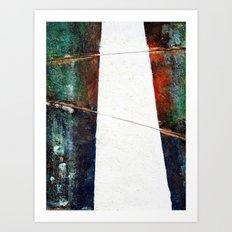 Silent Pathway Art Print