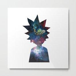 rick galaxy Metal Print