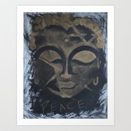 Peace - The Budha Art Print