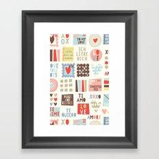 Sweetie Darling Framed Art Print