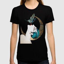 Butterfly Kiss Art Deco Remix T-shirt