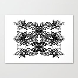 The Veil Canvas Print