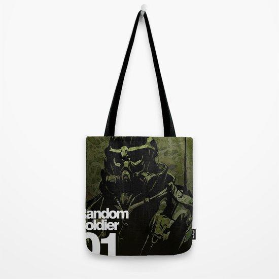 Random Solider 01 Tote Bag