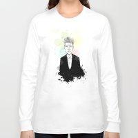 david lynch Long Sleeve T-shirts featuring David Lynch by suPmön