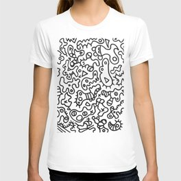 Dance of microbes by ilya konyukhov (c) T-shirt