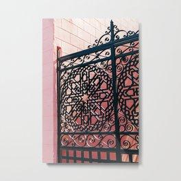 Charleston Pink XXIII Metal Print