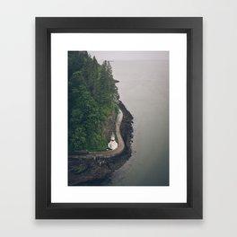 Stanley Park, Vancouver  Framed Art Print