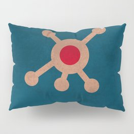 Lab No. 4 -Fear Is A Virus Corporate Start-Up Quotes Poster Pillow Sham