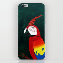 Parrot Evolution iPhone Skin