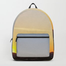 Sunset over the Freeway Backpack