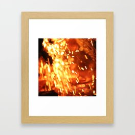 Fallen Embers Framed Art Print