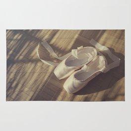 Ballet dance shoes Rug